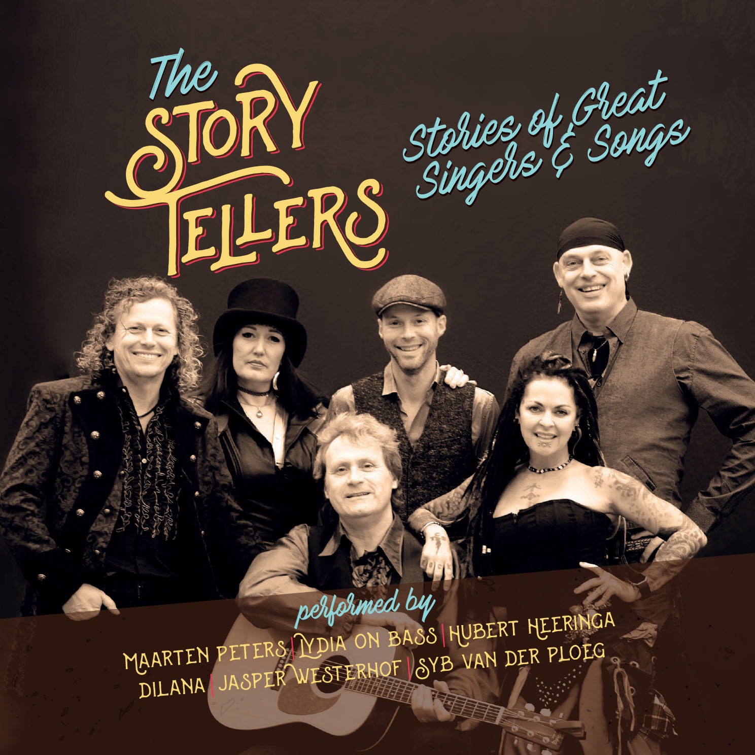 The Story Tellers Live Cd